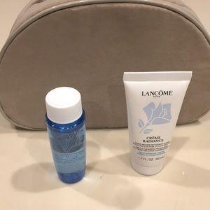 Lancôme makeup, Bi-facial & Cleanser